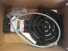 LPG  CAMPING COOKER WOK BURNER 4 RING 52MJ REGULATOR N HOSE  CAST IRON H/DUTY
