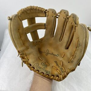 "Vintage Rawlings 1200 12"" Reggie Jackson Right Hand Throw Baseball Glove"