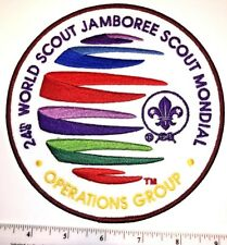 Operations Group Staff IST LARGE Badge Patch 2019 24th World Boy Scout Jamboree