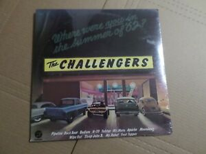 """The Challengers """"Where Were You in the Summer of '62?"""" Sealed Lp"""