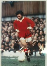 Football Legend GEORGE BEST Signed Manchester United Colour 11x8 Photo