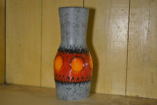 Vintage German Vase by Dumler & Breiden Colorful Sun Designed Glaze