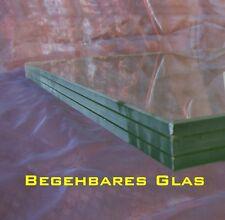 begehbares Glas nach Maß z. B. als Lichtschachtabdeckung bis 0,5 m² Fläche