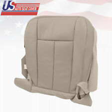 2011 2012 Ford Expedition Passenger Bottom Perforated Leather Seat Cover Gray