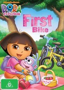 Dora The Explorer DVD First Bike - Australian Region 4 PAL