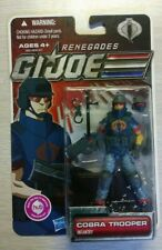 GI Joe Renegades Infantry Cobra Trooper 30TH Anniversary. New in Package