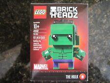 LEGO Brick Headz,NEW-Sealed Hulk -Marvel, Series 1, # 8, Item 41592
