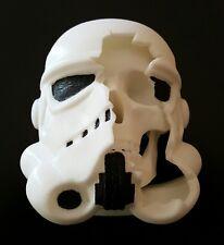Custom made Star Wars Imperial Stormtrooper/ Death Trooper Battle Damaged Helmet