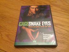 Snake Eyes (Dvd, 1999, Sensormatic) Starring Nicolas Cage