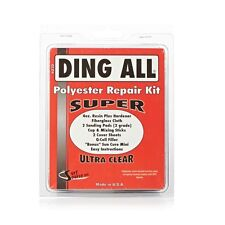 Ding All SUPER Surfboard Repair Kit Longboard Polyester Resin fiberglass