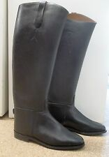 MILLERS ROYALE LONG LEATHER RIDING BOOTS UK 7 EX-DISPLAY SALE SHOWING HUNTING