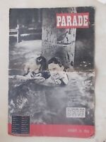 PARADE WW2 MIDDLE EAST SERVICEMAN MAGAZINE JANUARY 24th 1948