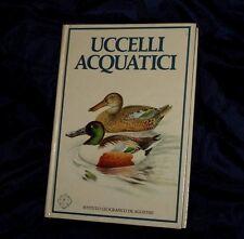 UCCELLI ACQUATICI - Caccia  De Agostini Libro molto Dettagliato