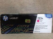 HP Q3973A Magenta Toner Cartridge 123A Genuine Sealed Box