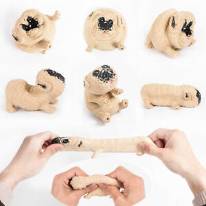 Cute Antistress Dog Squeeze Toys Stress Relief Squishy Toy