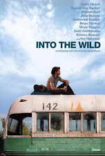 INTO THE WILD Movie POSTER 27x40 Emile Hirsch Vince Vaughn Marcia Gay Harden