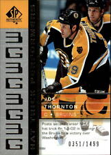 2002-03 SP Authentic #92 Joe Thornton Bruins /1499