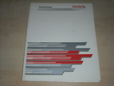 57178) Toyota Corolla Pressemappe 08/1987