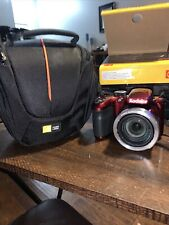 Kodak Pixpro Az401 with Case Logic Camera Case (Barely And Gently Used)