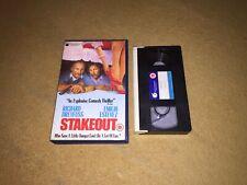 Stakeout - Ex-Rental Big Box VHS Video Richard Dreyfuss Emilio Estevez