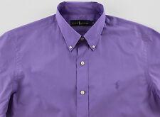 Men's RALPH LAUREN Lavender Purple Cotton Shirt M Medium NWT NEW Nice! $89+