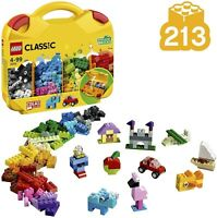 LEGO Classic Suitcase Portable Bricks Storage Set 213-Pieces Creative Building