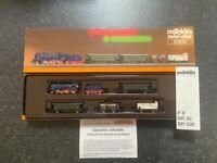 Marklin spur z scale/gauge. 'Badian Passenger Train with Goods Transport'.