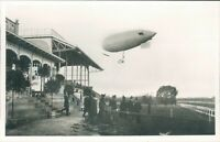 1961 Airship  Parseval card commemorating 50th Anniversary of visit to Hague