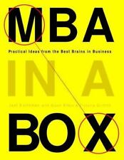 NEW - MBA in a Box: Practical Ideas from the Best Brains in Business