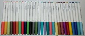 LOT OF 29 USED CRICUT FINE TIP MARKERS / ALL TESTED AND WORKING / VARIOUS COLORS