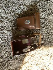 Rollei Rolleiflex Vintage Leather Case For 3.5 TLR    C49511 Griffiths Name