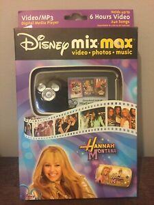 Disney Mix Max Hannah Montana Mix-Max Digital Media Player*VIDEO/MP3**SHIPS FREE
