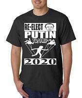 Re-Elect PUTIN / Trump For President 2020 T-Shirt - Russian Puppet Anti- Donald