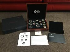 More details for 2015 royal mint premium proof coin set 13 coins + medal c.o.a limited no: 1125