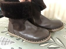 Mini Boden Leather Boots 31