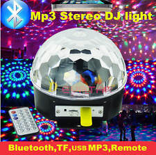 Projector DJ Disco LED Light Bluetooth Sound Control Remote Stage Laser Light