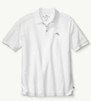 Men's Sz 2XL Tommy Bahama IslandZone The Emfielder Polo 2.0 Shirt  Bright White