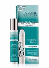 Eye Lifting Roll-on Cooling Effect Eveline Bio Hyaluron 4D Wrinkle Filler 15ml