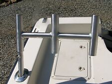 One Pair of Offset Kite/Trident Rod Holders - Byerly's Welding
