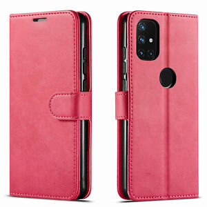 For OnePlus Nord N10 5G / N100 Case, Premium Wallet + Tempered Glass Protector