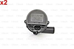 BOSCH 2 pcs Additional Water Pump 12V For MERCEDES A205 A238 C205 VW 0392023004
