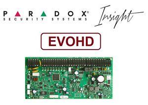 EVOHD Paradox Security Alarm System Insight 192 Zone Control Panel Enchanced