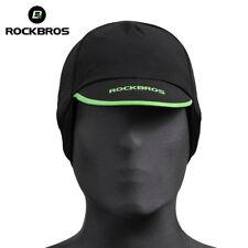ROCKBROS Mens Cycling Caps Winter Thermal Fleece Sports Windstopper Hat Earmuffs
