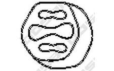 BOSAL Almohadilla de tope, silenciador VOLVO 760 740 940 960 S90 V90 255-946
