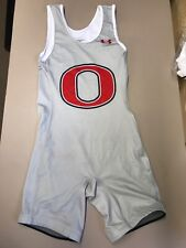 mens Under Armour wrestling singlet team uniform high school OSAKIS size medium