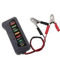 Tester Batteria 12V LED Controllo Carica Sovraccarico Per Auto Moto