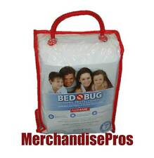 Bed Bug Bedding Protection Kit Protects Queen Bed Mattress & Pillows New!
