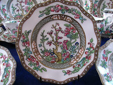 COALPORT INDIAN TREE(c1890-1930) BREAD & BUTTER PLATE(s) SCALLOPED! EXCELLENT