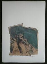 Noßmann, Lithografie Drucke, Der Bassist limitierte und signierte Auflage