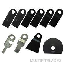 10pc Handyman Oscillating Tool Blades Kit - Rockwell Sonicrafter Original